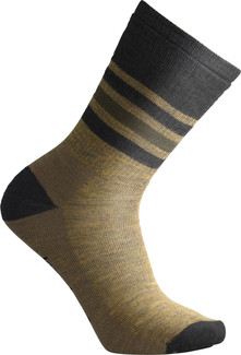 Smartwool - MEN'S STRIPED HIKE MEDIUM CREW DESERT