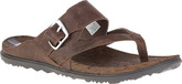 Merrell - AROUND TOWN THONG BUCKLE BROWN