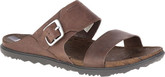 Merrell - AROUND TOWN BUCKLE SLIDE BROWN
