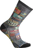 Smartwool - TOTEM MONSTER PRINT CREW BLACK