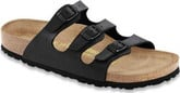 Birkenstock - FLORIDA SOFT BLACK BF NORMAL