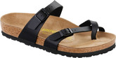 Birkenstock Mayari Cross Strap Sandal in Black