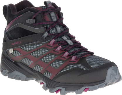 Merrell - MOAB FST ICE THERMO BLACK/BERRY