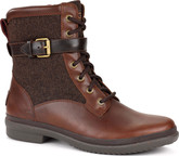 Fashionable Ugg Kesey Chestnut Leather Boots