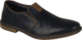 Rieker Mens Black Slip On Shoes at Lowest Price