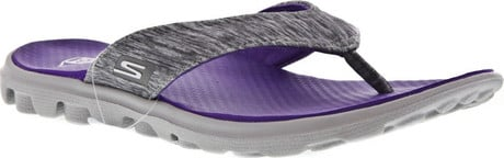 Women S Skechers On The Go Flow Thong Sandals Quarks Shoes