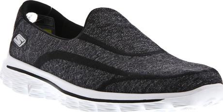 Skechers - GO WALK 2 SUPER SOCK BLACK