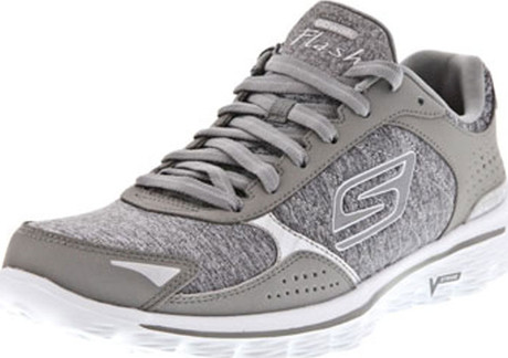 skechers go walk 2 grey