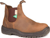 Blundstone Crazy Horse Steel Toe Leather Boots