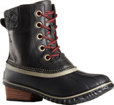 Waterproof and Elegant Slimpack 2 Lace Black Boots from Sorel