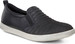 Fashionable Aimee Black Ladies Slip On Casual Shoes from Ecco
