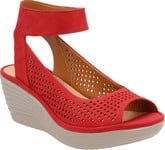 Clarks - REEDLY SALENE RED