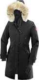 Canada Goose Women's Kensington Parka in Black