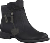 Jana - SIDE ZIP LOW BOOT BLACK