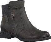Jana - SIDE ZIP LOW BOOT MOCA