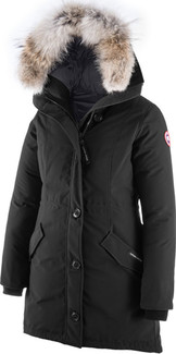 Winters Best Rossclair Parka Black Hood by Canada Goose