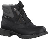 Jana - LACE UP BOOT BLACK