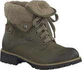 Jana - OLIVE ROLL TOP WARM BOOT