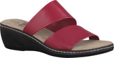 Jana - RED WEDGE SANDAL