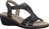 Jana - BLACK BACKSTRAP SANDAL
