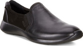 Ecco - SOFT 5 SLIP ON BLACK