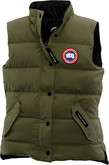 Canada Goose - W FREESTYLE VEST MILITARY GREE