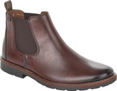 Rieker - DOUBLE GORE BOOT BROWN