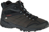 Merrell Moab Ice Thermo Black Waterproof Boots with Fleece Lining