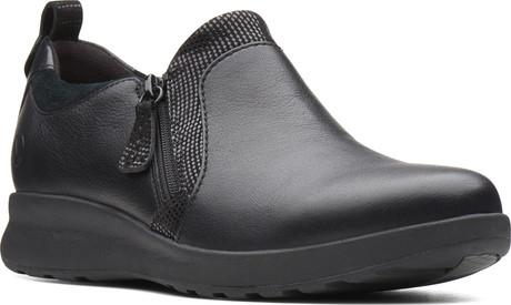 UNADORN ZIP BLACK - Quarks Shoes
