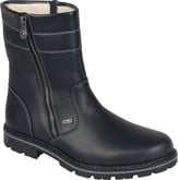 Rieker - SIDE ZIPPER BOOT BLACK