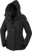 Stay Warm with Canada Goose Rideau Parka Black Hood
