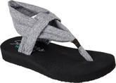 Comfortable Skechers Meditation Studio Sandals with Lightweight Sole