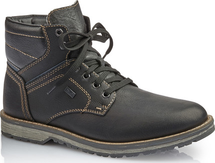 Rieker - 39223-00 - BLACK LACE UP BOOT