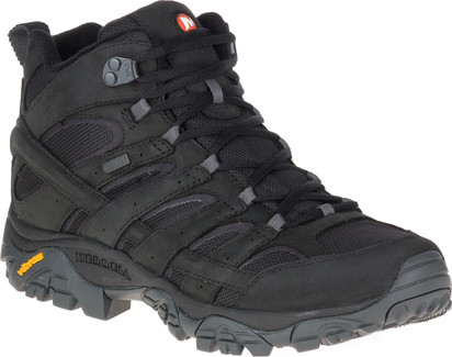 Merrell - MOAB 2 SMOOTH MID WP BLACK