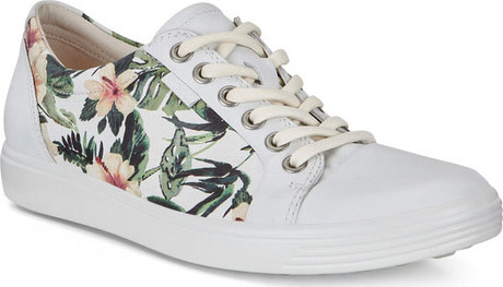 Ecco - SOFT VII WHITE FLOWERS