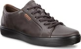Ecco - SOFT 7 LACE UP LICORICE