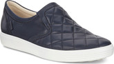 Ecco - SOFT7 QUILTED SLIPON  NIGHTSKY