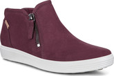 Ecco - SOFT 7 ZIP BOOTIE BORDEAUX