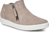 Ecco - SOFT 7 ZIP BOOTIE WARM GREY