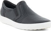 Ecco - SOFT 7 SLIP ON BLACK LADIES