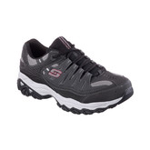 Skechers - AFTERBURN MFIT CHARCOAL WIDE
