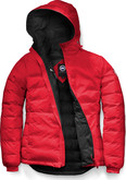 Canada Goose - CAMP HOODY RED BLACK