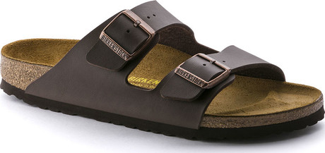 Soft and Comfy Arizona Brown Birk Normal Sandals by Birkenstock