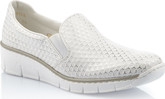 Rieker - WHITE DOUBLE GORE SLIP ON