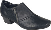 Rieker - SIDE ZIPPER BLACK SHOE