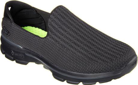 a7f9f8bfe6ee Shop Skechers Go Walk 3 Black Shoes Online