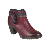 Rieker - ANKLE BOOT RED