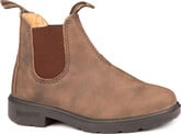 Waterproof Blundstone 565 Kids Blunnies in Rustic Brown Leather