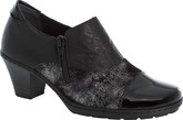 Rieker - BLACK HEELED SHOE