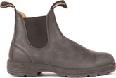 Leather Blundstone 587 Rustic Boots in Black
